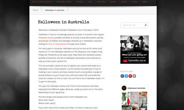 Halloween Australia
