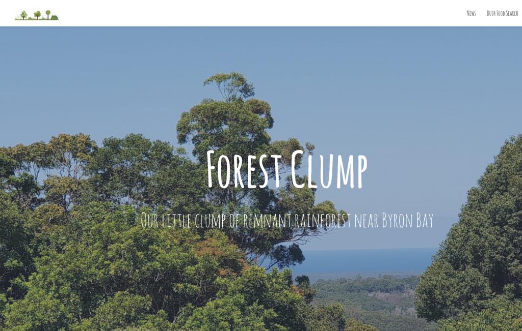 Forest Clump website